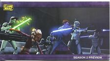 Star Wars Clone Wars Widevision S2 Sneak Preview Chase Card PV-1