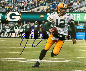 Aaron Rodgers Green Bay Packers Signed 8x10 Photo COA