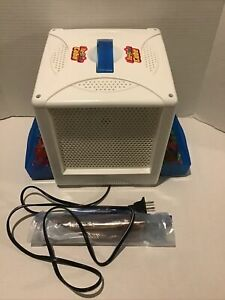 Lite Brite Cube Hasbro 2001 with pegs & long pegs four sided model06511 tested
