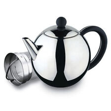 Rondo 17oz 0.5L Stainless Steel Teapot ST-017X With Infuser Grunwerg Cafe Ole
