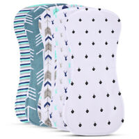 "Newborns Burp Cloth for Boys Girls Premium Large 18.7""x8.85"" 100% Organic Cotton"