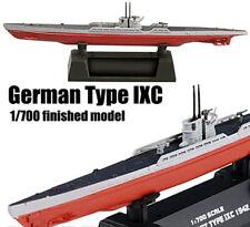 WWII German Type IXC U-9C submarine U-boat 1/700 non diecast Easy model ship