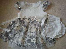 AMAZING NEW BONNIE JEAN BABY GIRL DRESS 12 MTHS 9/12 MTHS