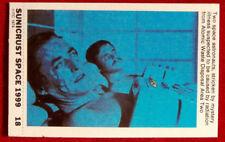 SPACE 1999 - STRICKEN BY MYSTERY ILLNESS - EX SUNICRUST Card #18 Australia 1975