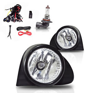 03-05 Toyota Echo OE Style Fog Lights w/Wiring Kit & Wiring Instructions - Clear