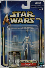 "TAUN WE KAMINO Star Wars Attack Of The Clones 3.75"" 2002 Inch Action Figure"