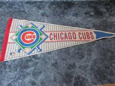 "WINCRAFT CHICAGO CUBS FELT PENNANT BASEBALL 29"" LONG"