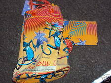 Sun and Sand Dancing Lizards Caribbean Rucksack Bag - Laurel Burch