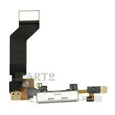 Charger Charging Dock Port Connector with Flex Cable for Apple iPhone 4S (White)