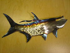 TARPON TEXAS FLORIDA SALTWATER FISH FISHING LODGE METAL WALL ART HOME DECOR