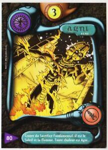 80 AGNI - CARTE DEUS - SERIE I - 1996 - VF [ NEUF MINT ] trad's