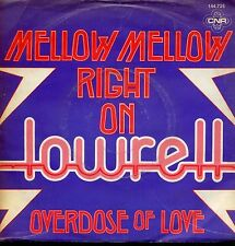 7inch LOWRELL melly mellow right on HOLLAND 1979 FUNKY DISCO
