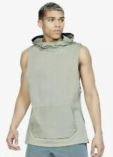 Mens Large NIKE Therma Tech Pack Hooded Sleeveless Training Top BV3296-372 Jade