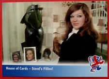THE NEW AVENGERS - Card#66 - House of Cards, Steed's Fillies - Strictly Ink 2006