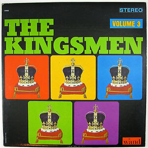 KINGSMEN Kingsmen Volume 3. LP 1965 ROCK/GARAGE VG++ NM-