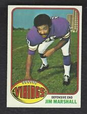 1976 TOPPS #385 JIM MARSHALL MINNESOTA VIKINGS EX-MT to NM