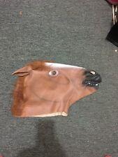 rubber horse head mask bnwot free post (e97)