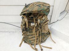 USMC ILBE MARPAT MAIN PACK FIELD BACKPACK W/ LID
