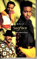 Surface Best Of…Nice Time 4 Lovin 1991 Cassette Tape Album R&B Hiphop Pop Dance