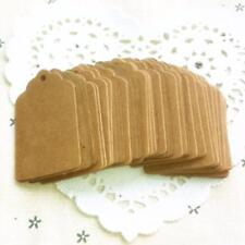 100Pcs Blank Hang Wedding Favor Baking tag blank handmade products