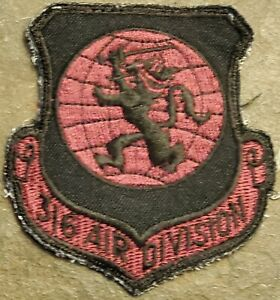 USAF AIR FORCE 316th AIR DIVISION AD PATCH SUBDUED VINTAGE RAMSTEIN AB, GERMANY