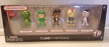 NEW 2015 Tube Heroes Mini Gaming Pack 5 Character YouTube Toy Action Figures NIP