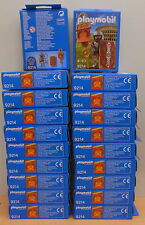 10x set 9214 Playmobil Romein sealed/closed boxes