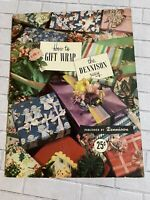 Vintage 1950 How To Gift Wrap The Dennison Way Booklet