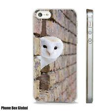 SNOWY OWL BIRDS OF PREY NEW CASE FITS  IPHONE 4 4S 5 5S 5C 6 6S 7 8 SE PLUS X