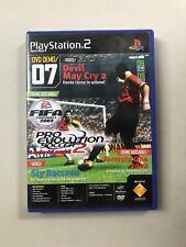DVD DEMO GAME DEVIL MAY CRY  EVOLUTION SOCCER playstation 2