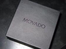 MOVADO ORIGINAL - WATCH BOX - COMPLETE WARRANTY CARD
