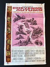 """Cheyenne Autumn (1964) - Original One Sheet Movie Poster - 27"""" x 41"""""""