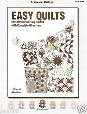 16 Easy Quilts Aunt Martha's Pattern Booklet