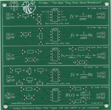 Basic filtre types passe-bas high pass bandpass prototypage pcb student learning