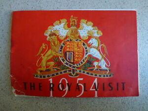 The Royal Visit 1954 Booklet