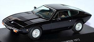 Maserati Khamsin Coupe 1972 Black Metallic 1:43 Ixo