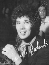 LUCIO BATTISTI   - print signed photo - foto con autografo stampato