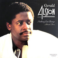 """Gerald Alston 12"""" Nothing Can Change / Almost There - UK (EX/EX)"""