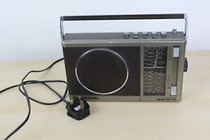 Grundig Music Boy 160 AM-FM Retro Portable Radio Tested Working