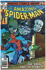 AMAZING SPIDER-MAN #181 June 1978 NM- 9.2 OWW Gil KANE Cover CAREER FLASHBACK!