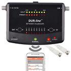 DUR-line Satfinder / Messgerät SF 4000 BT, für DVB-S/S2, Smartphone-Anbindung üb