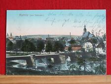Farbkarte - Rochlitz - von Südosten aus - gel. 1909    m1