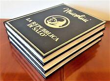 MUSSOLINI - BIOGRAFIA FOTOGRAFICA E REPUBBLICA SALO' 3 VOL Peruzzo Editore 1982