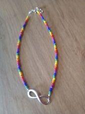 Gay Pride Infinity anklet