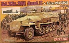 1/72 German Sd.Kfz.251 Ausf.C + 3,7cm PaK 35/36 Combo Set -- Dragon 7611
