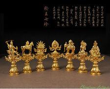 "Tibet Vajrayana Buddhism ""Seven Hallows"" Vajra Dorje Phurba Energy Talisman#2445"