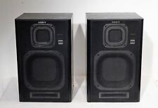 pair of vintage speakers 80s - Paar Sony APM-A7 Lautsprecher Hifi Boxen 80er