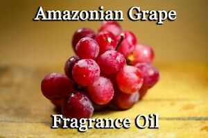 AMAZONIAN GRAPE PROFESSIONAL GRADE FRAGRANCE OIL, 100 ML - CANDLES, DIFFUSERS.