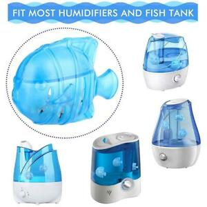 Vaporizer Humidifier Tank Cleaner Water Cleaning Filter Reduces Odor Fake FishA+