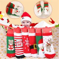 Kids Christmas Warm Slipper Socks Childrens Novelty Xmas Stocking Filler Gift Vv